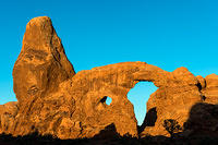 Turret Arch Just After Sunrise